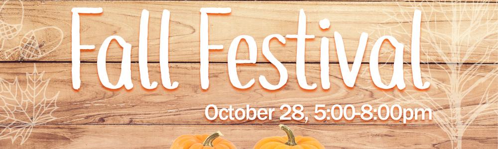 Fall festival web header