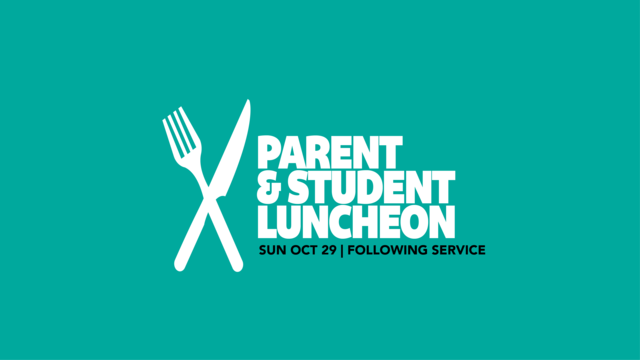 Parent student luncheon image
