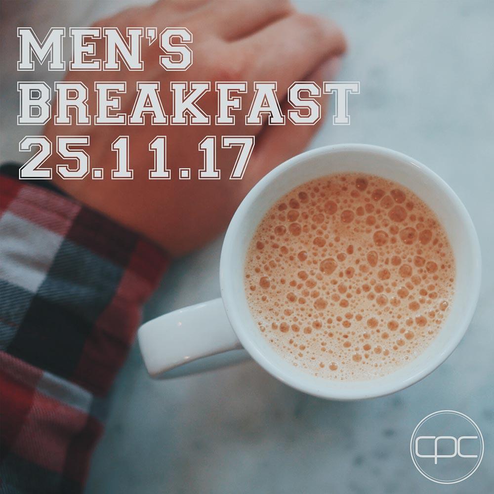 Men breakfast nov front