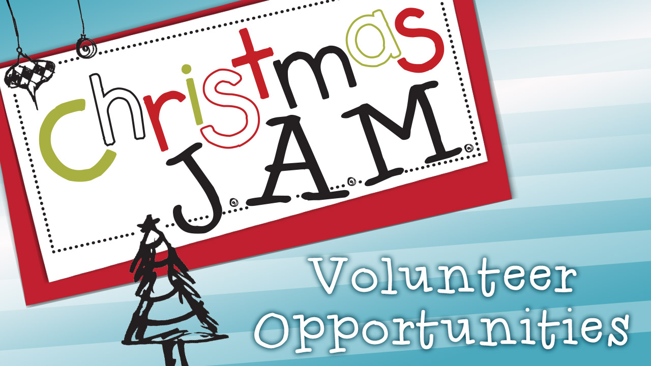 Christmas j.a.m. volunteers