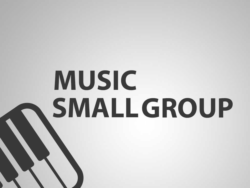 Music small group event post