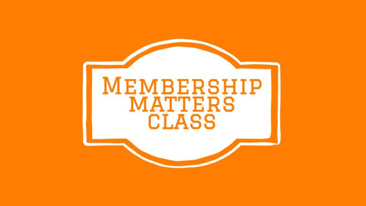 Membership Matters- July 2021 logo