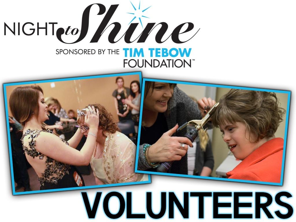 Night to shine pco volunteers
