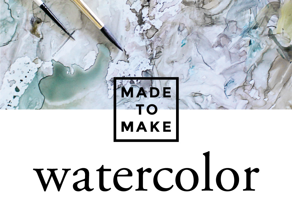Made to make watercolor pco