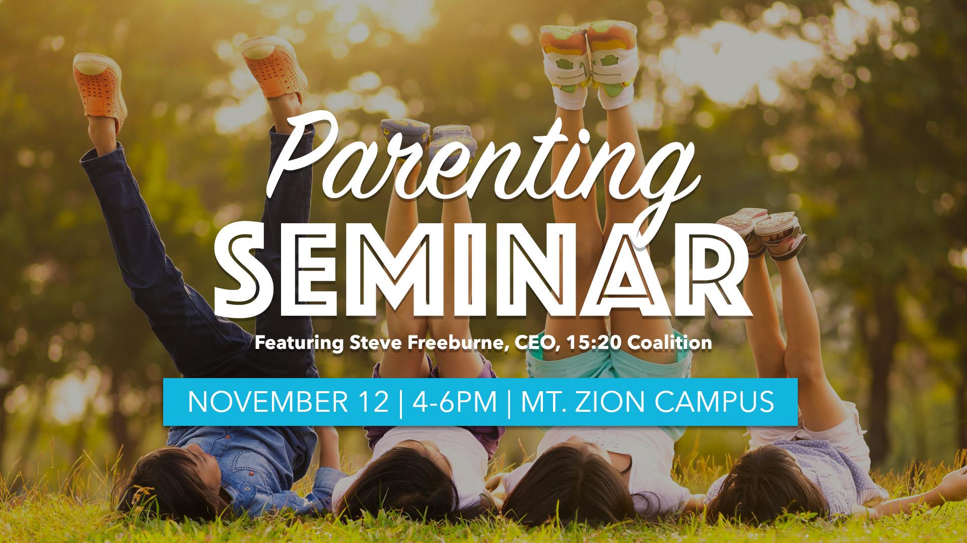 Parenting seminar1080