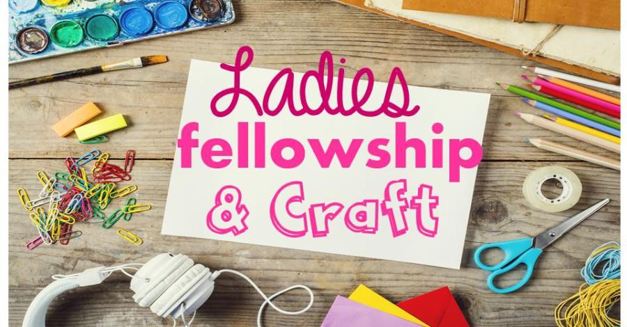 Ladies fellowship craft