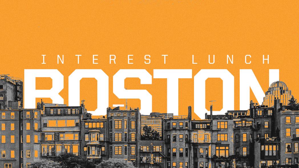 Bostonlunch website event