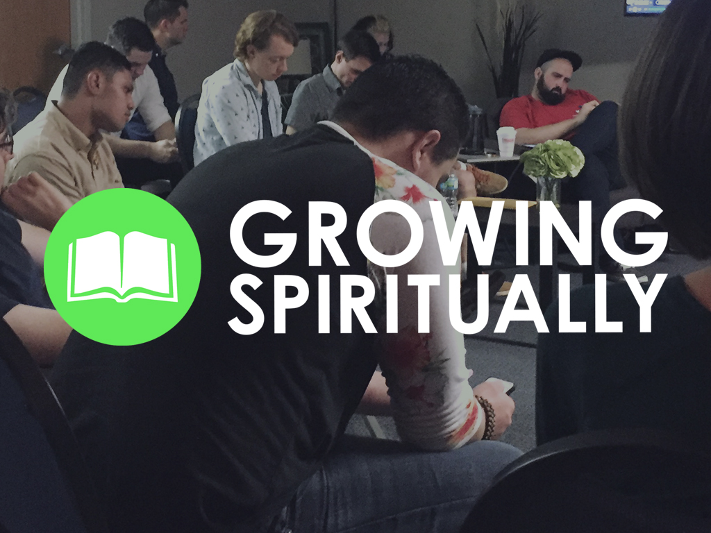 Growing spiritually