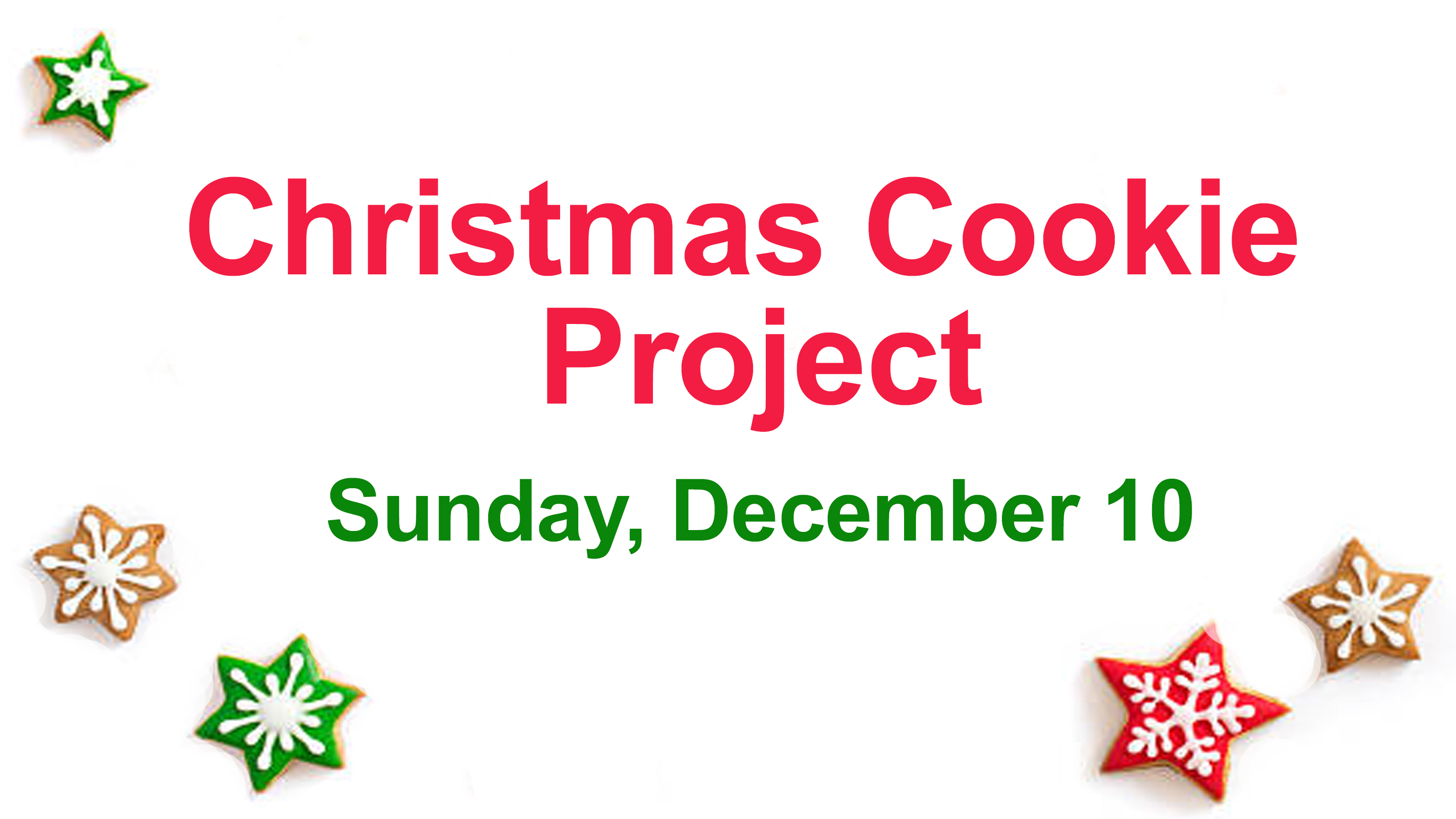 Cookie project 2017 2