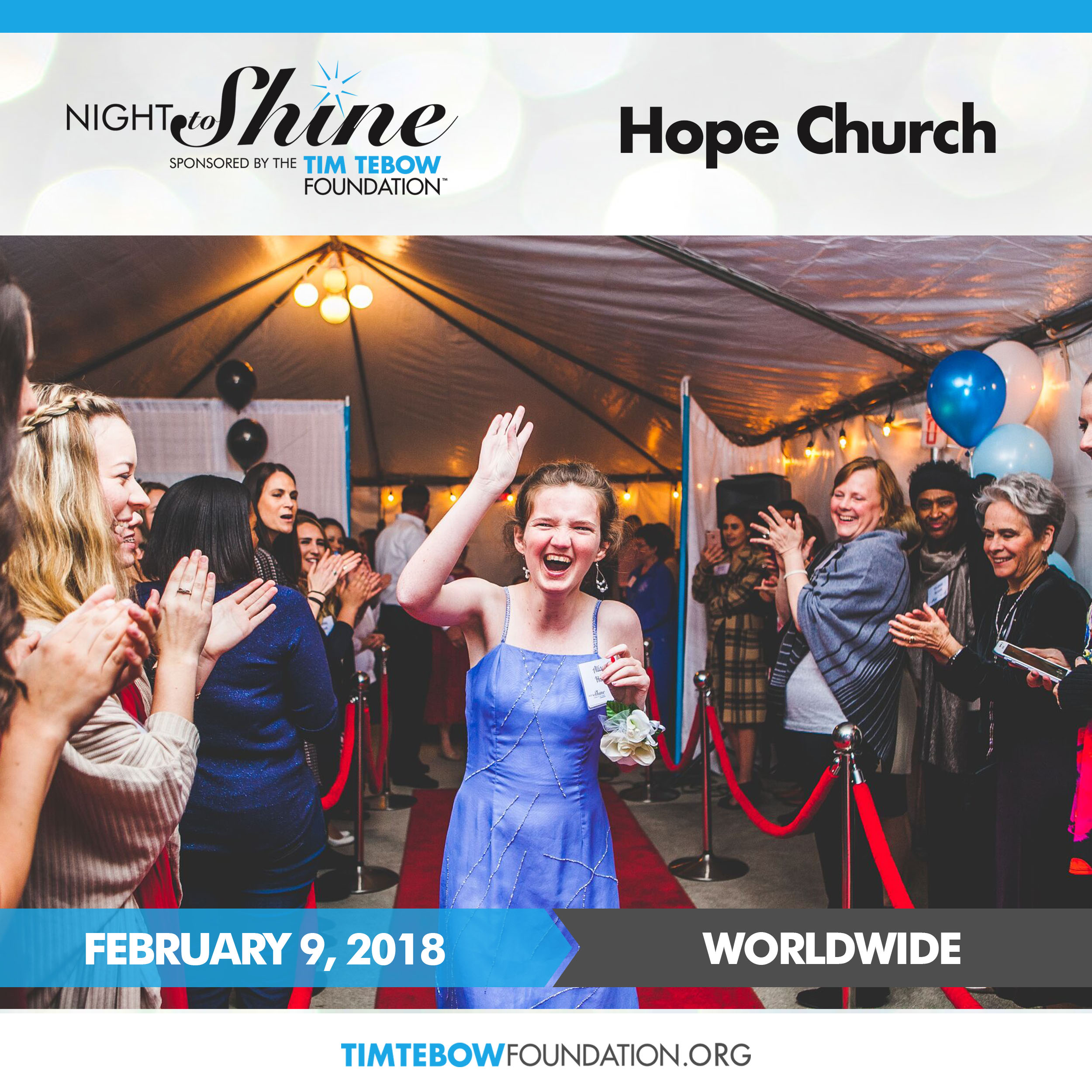 Hope church social media post