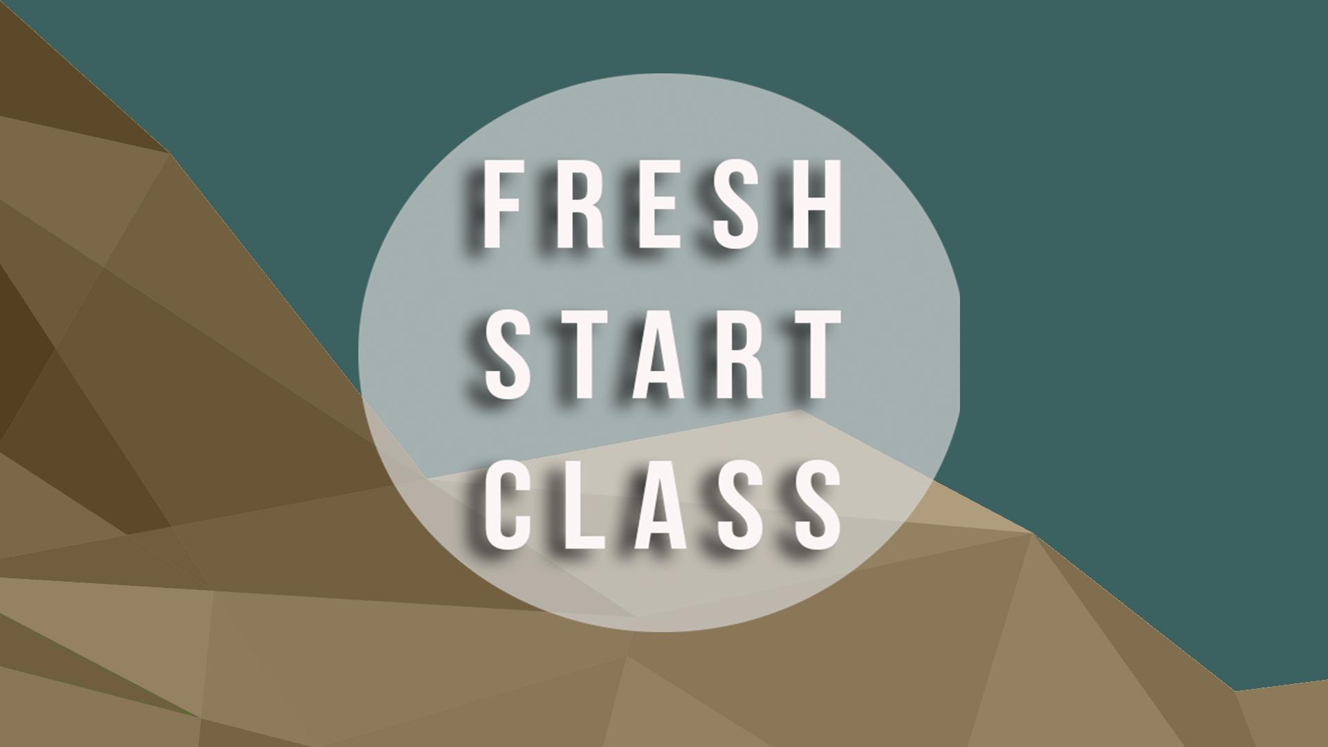 Freshstartclassupdated
