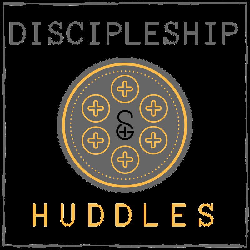 Discipleship huddle branding