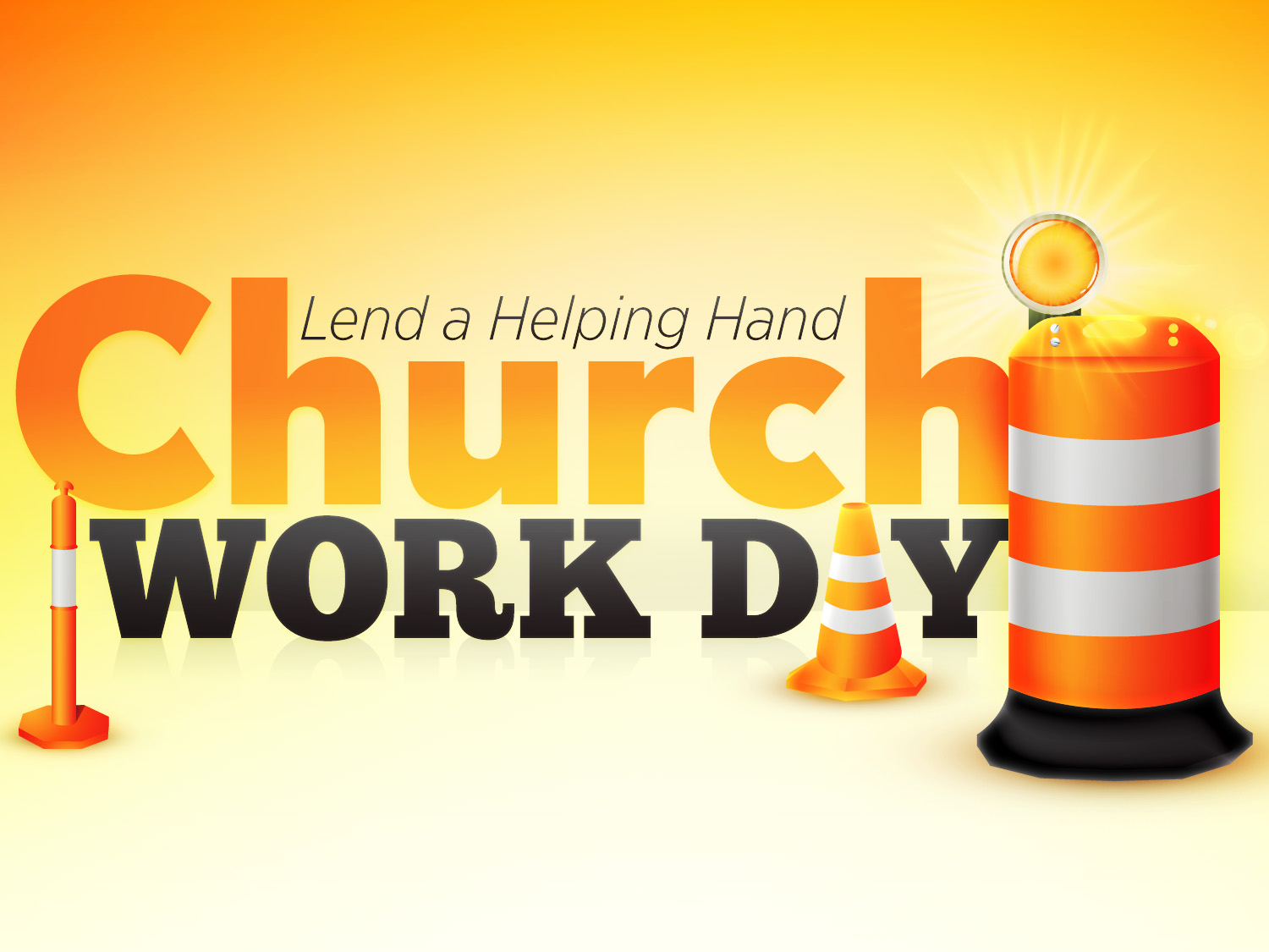 Church work day t1