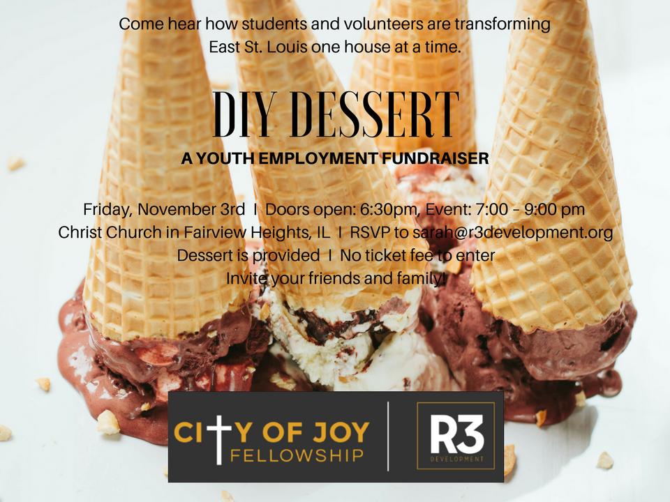 R3 diy dessert slide