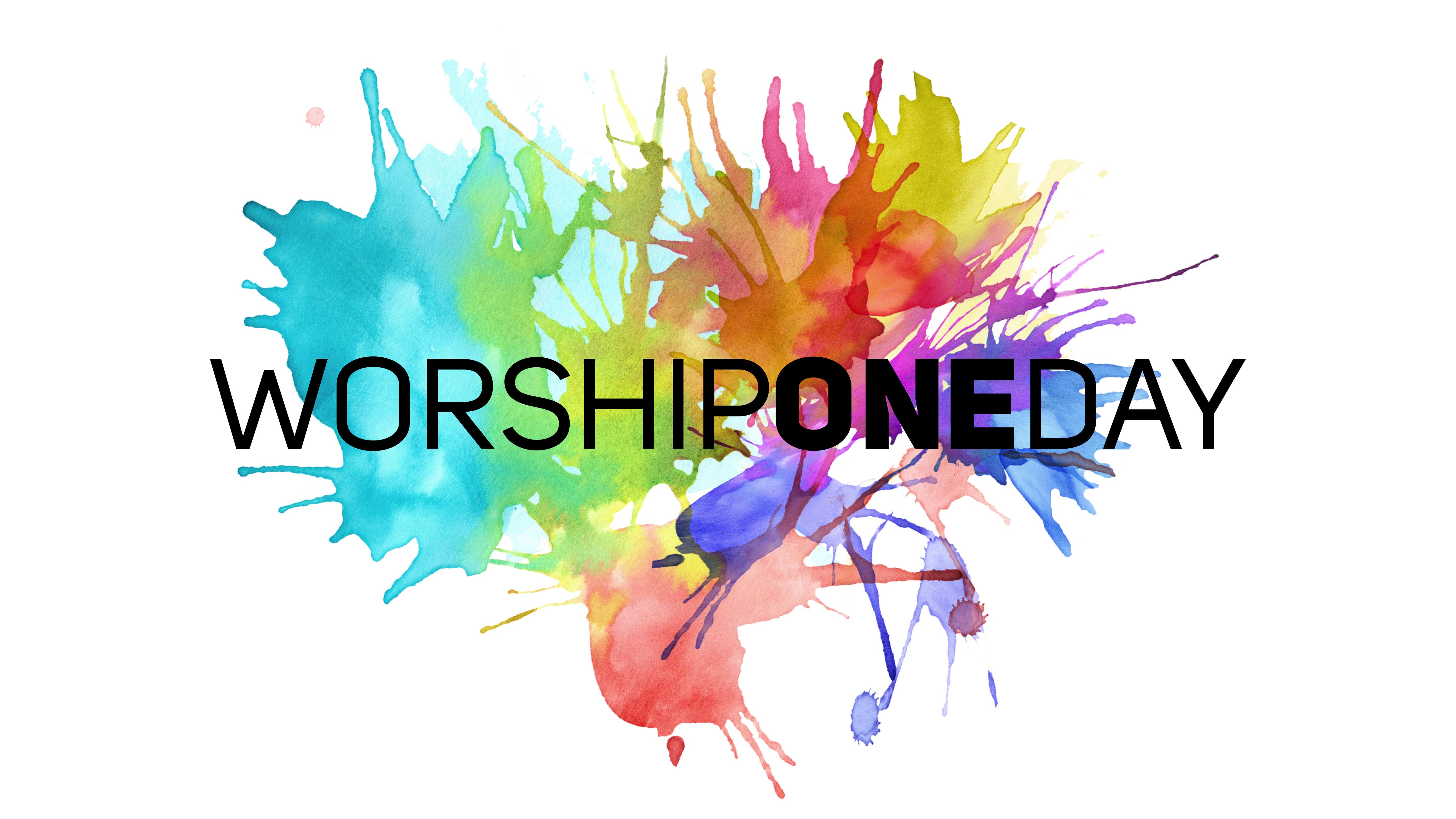 Worshiponeday graphic png