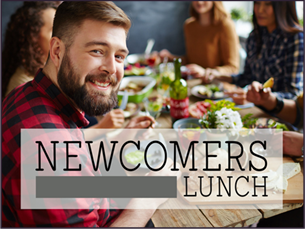 Newcomers lunch graphic