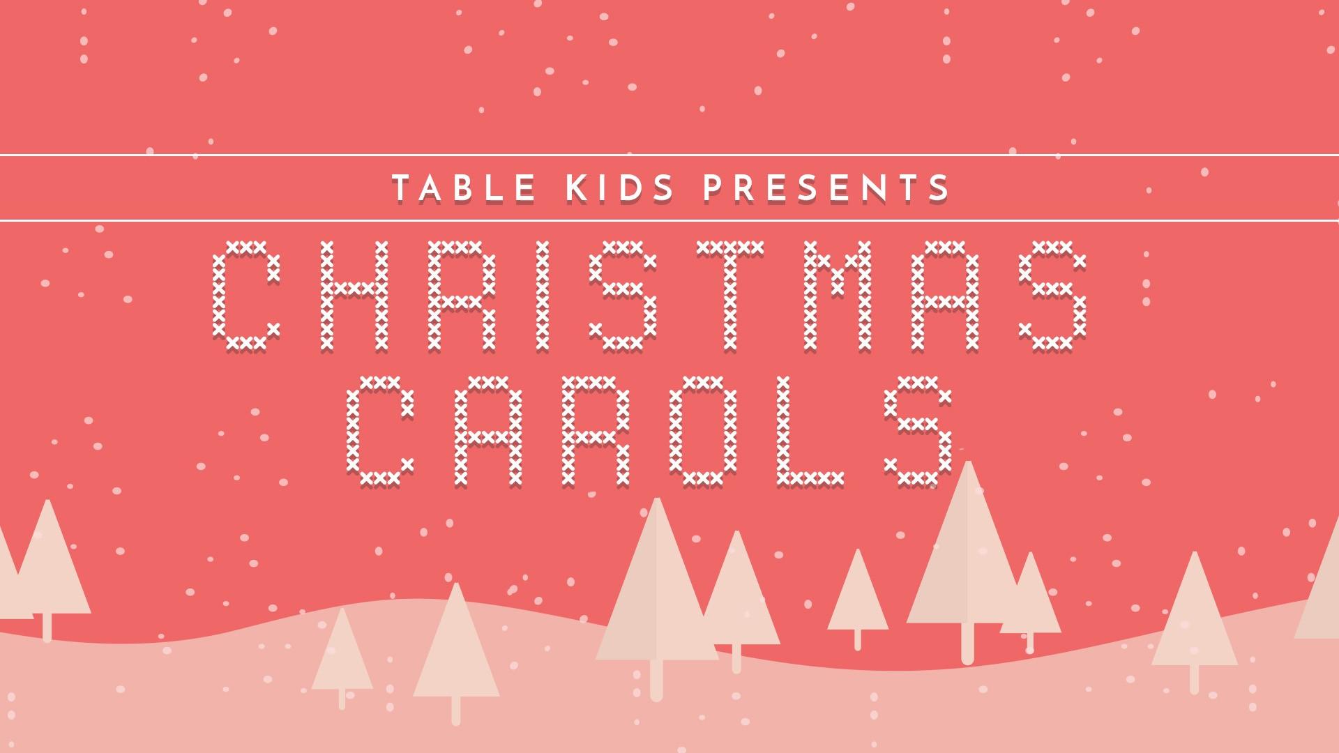 Christmas carols 2017