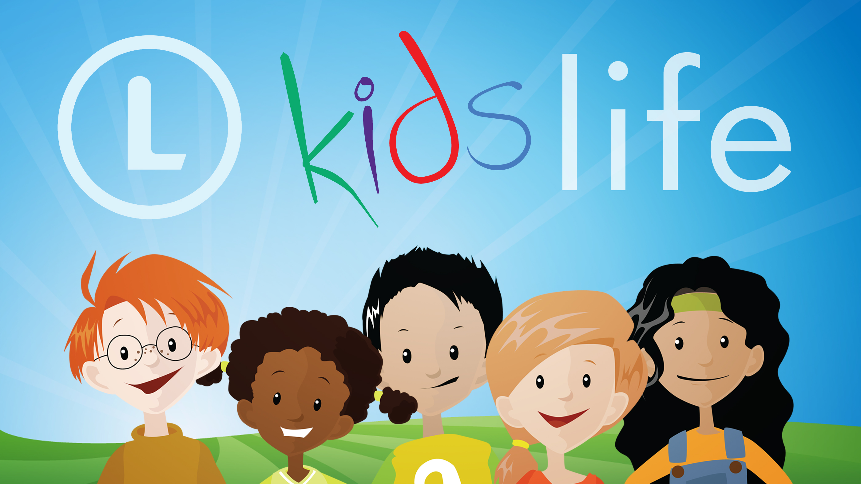 Kids life logo group