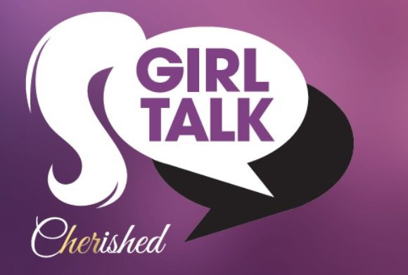 Girl talk cherished logo