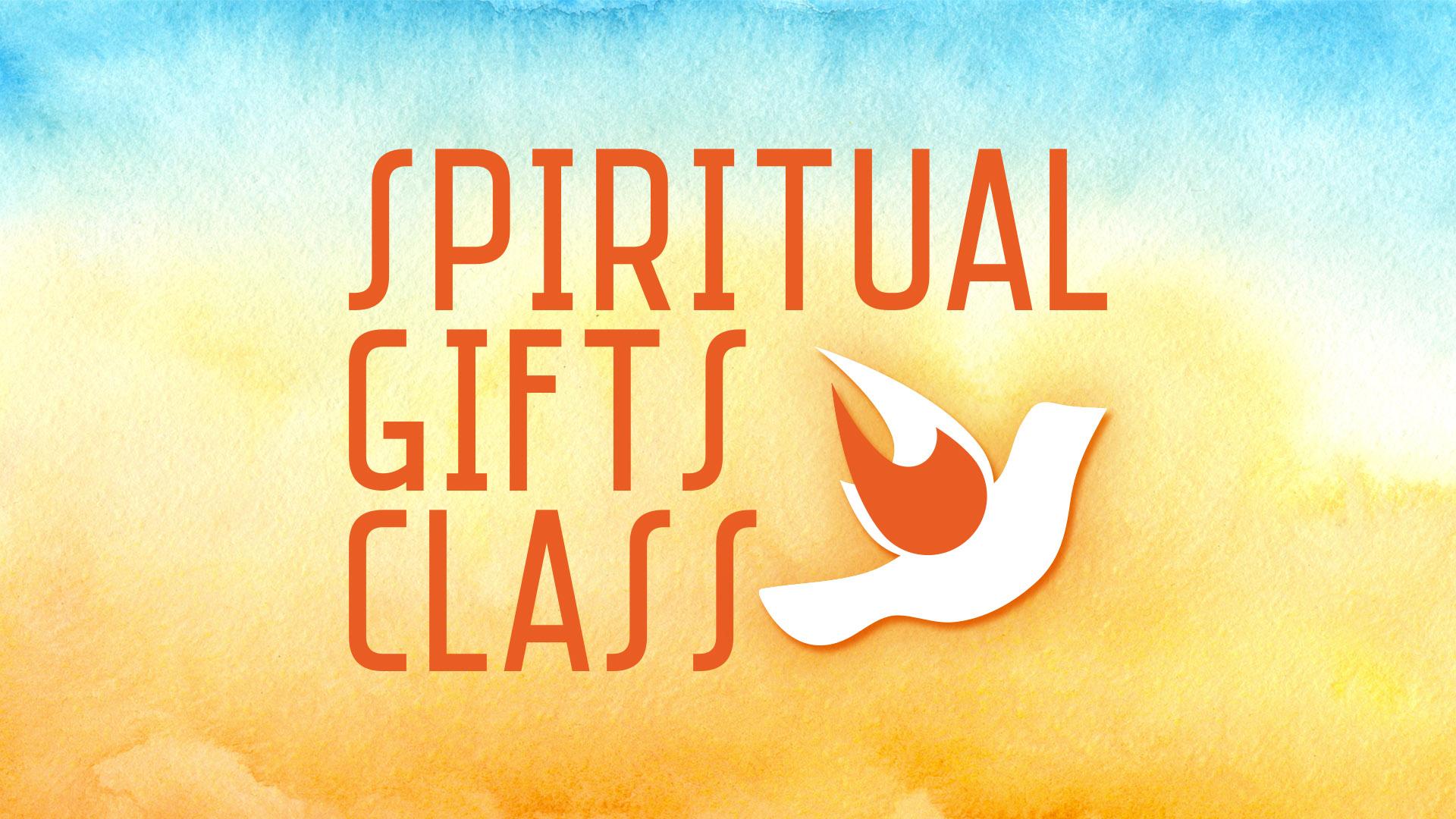 Spiritual gifts class pco