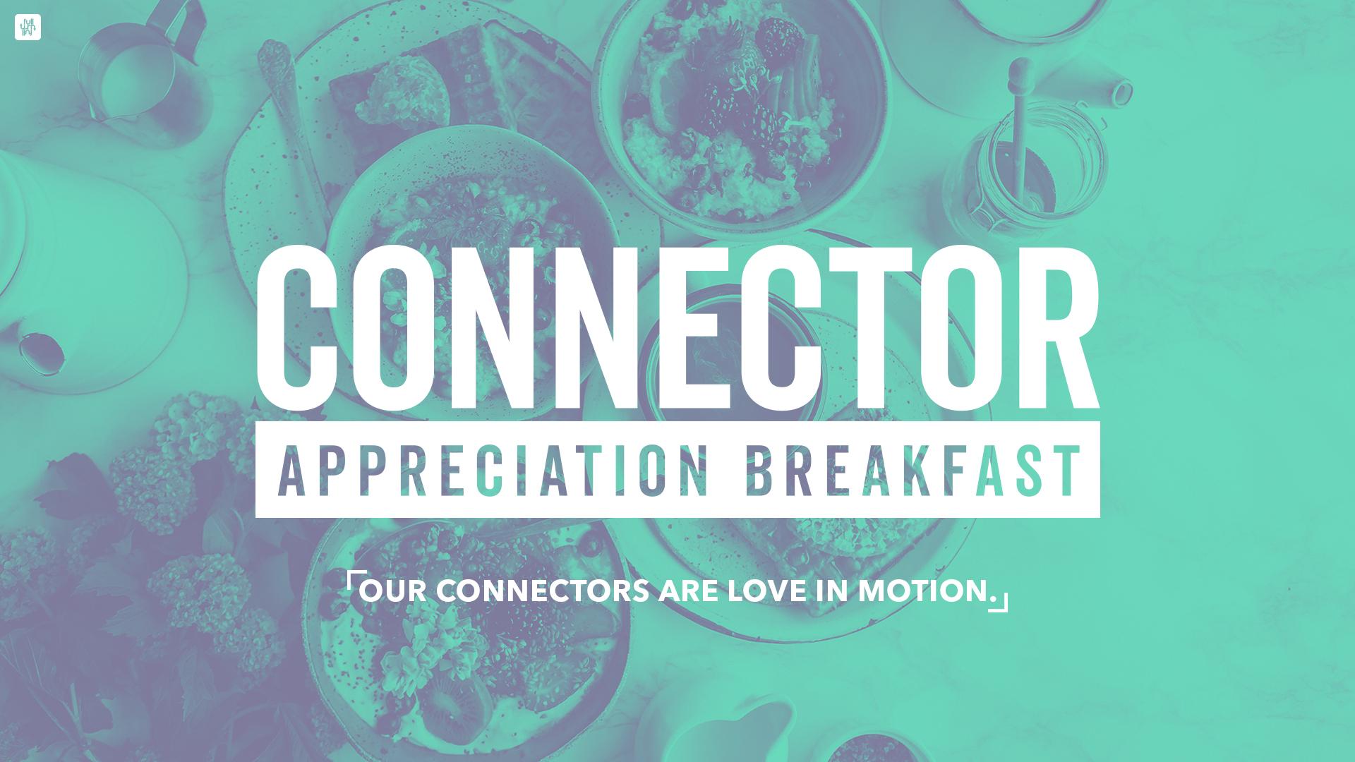 Connector appreciation breakfast facebook