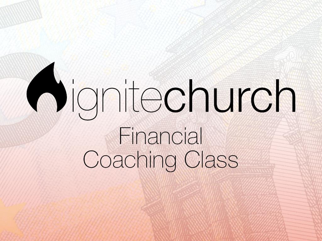 Financial coaching class