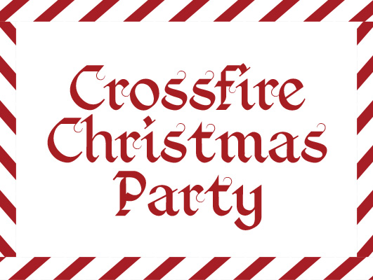 Crossfire christmas party 2016 graphic