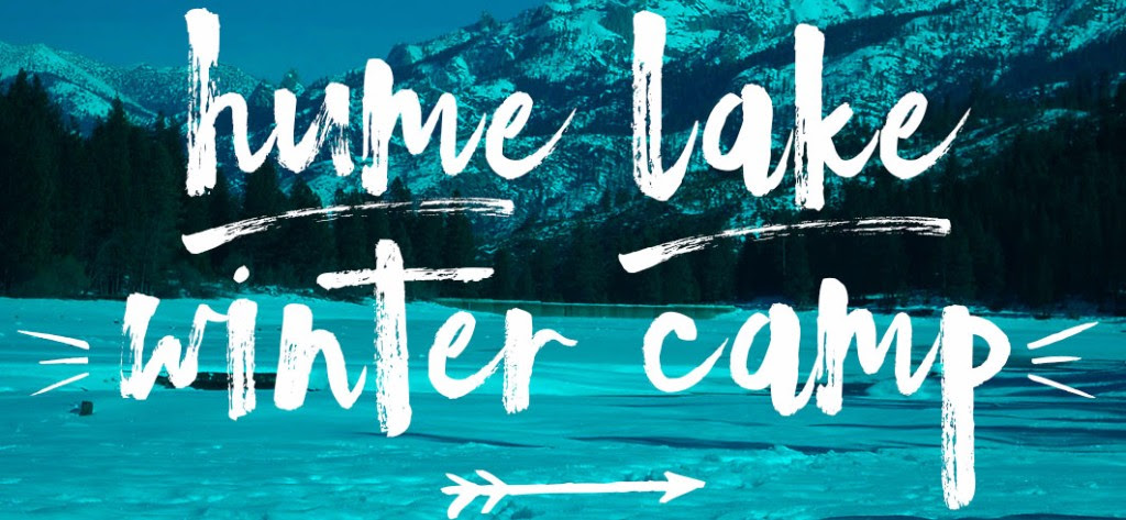 Hume lake winter camp
