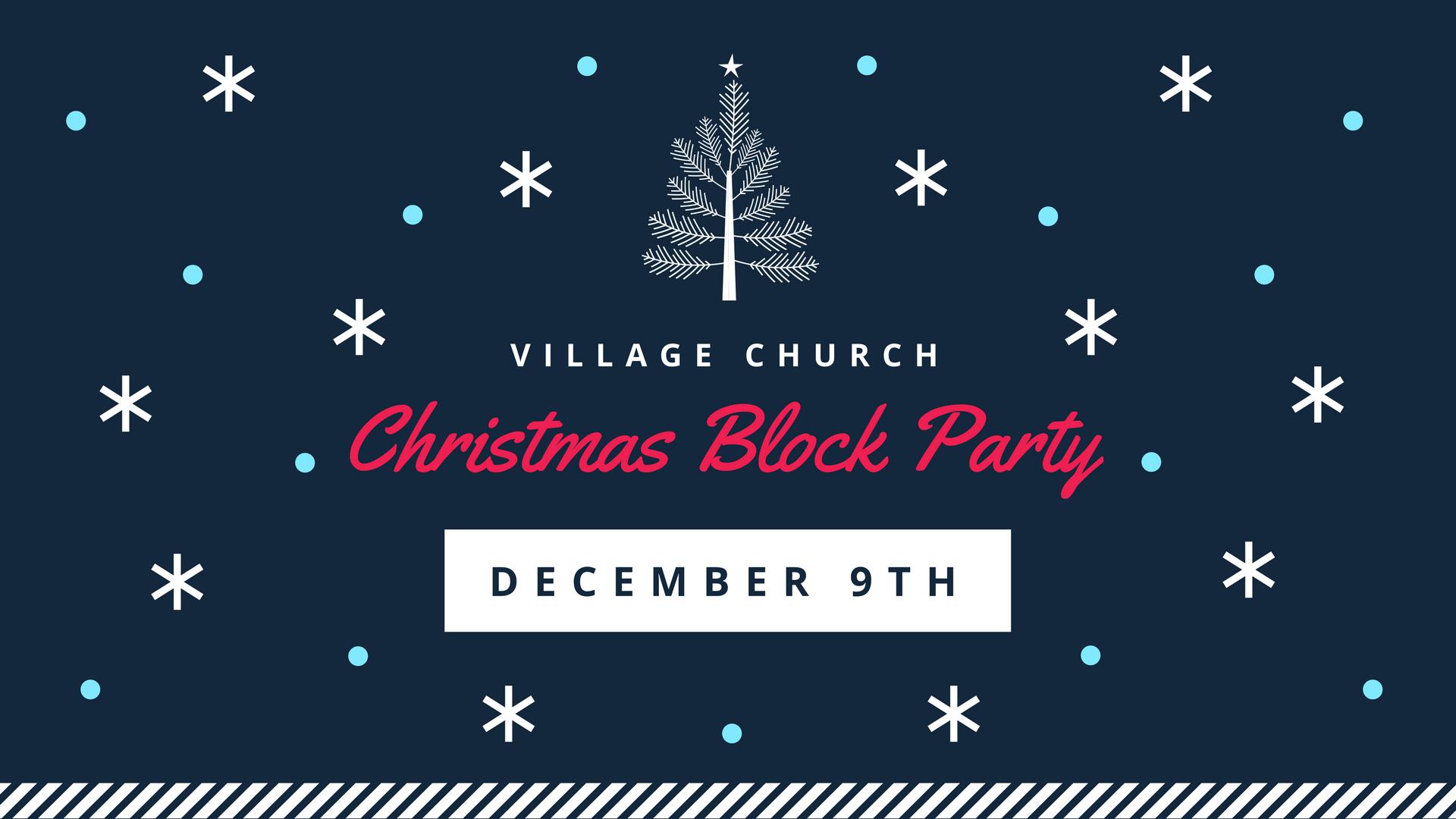 Block party   no link
