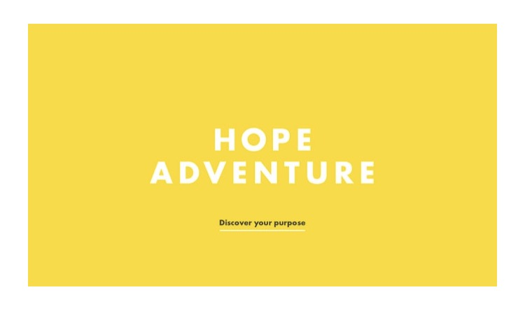 Hope adventure logo