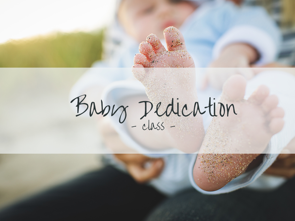 Babydedication regs