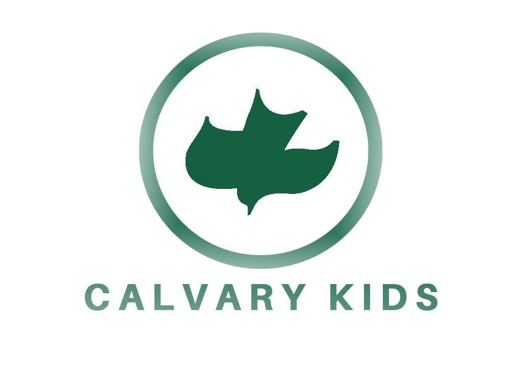 Calvary kids logo green