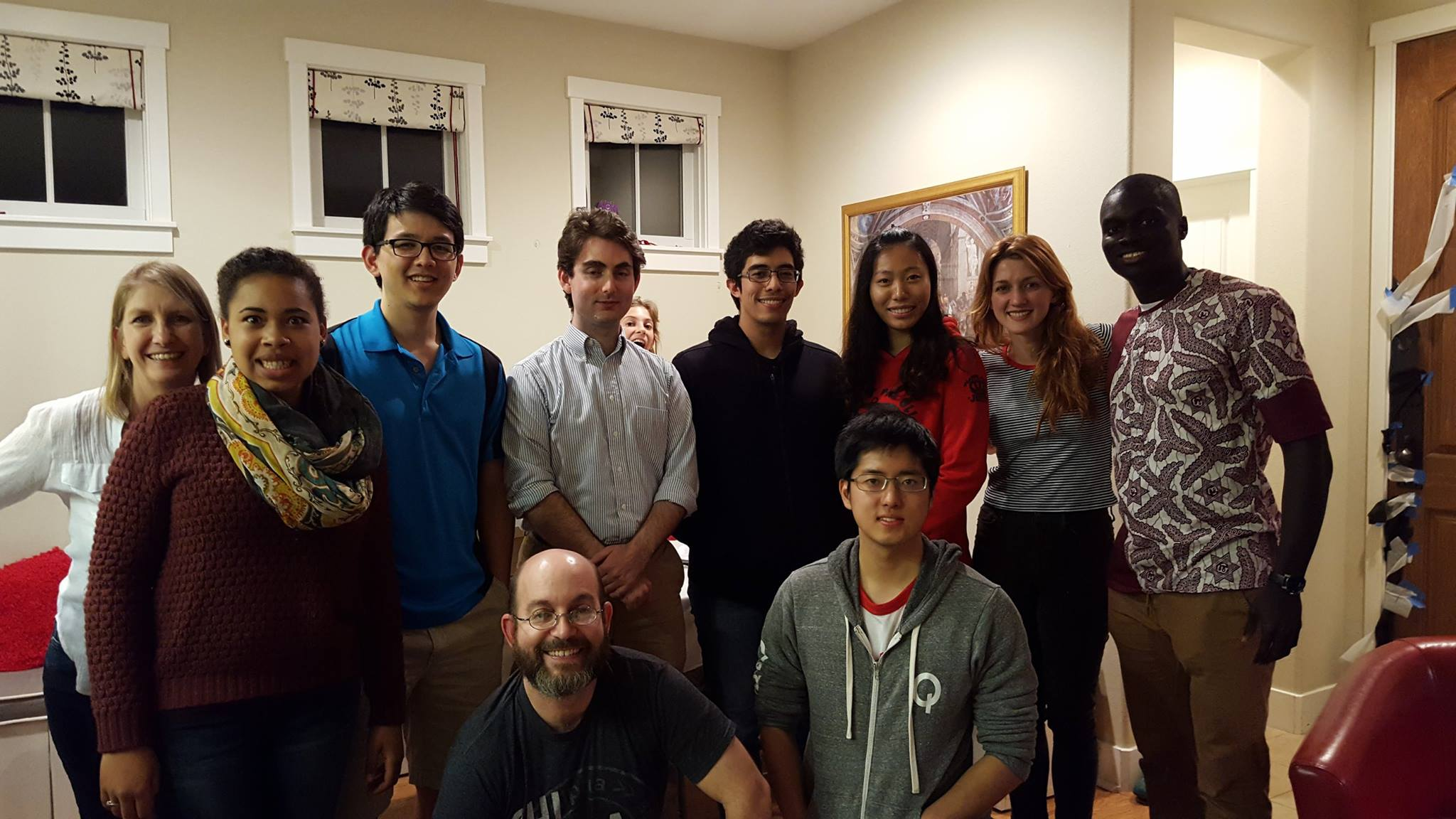 Grad student dinner oct 2016