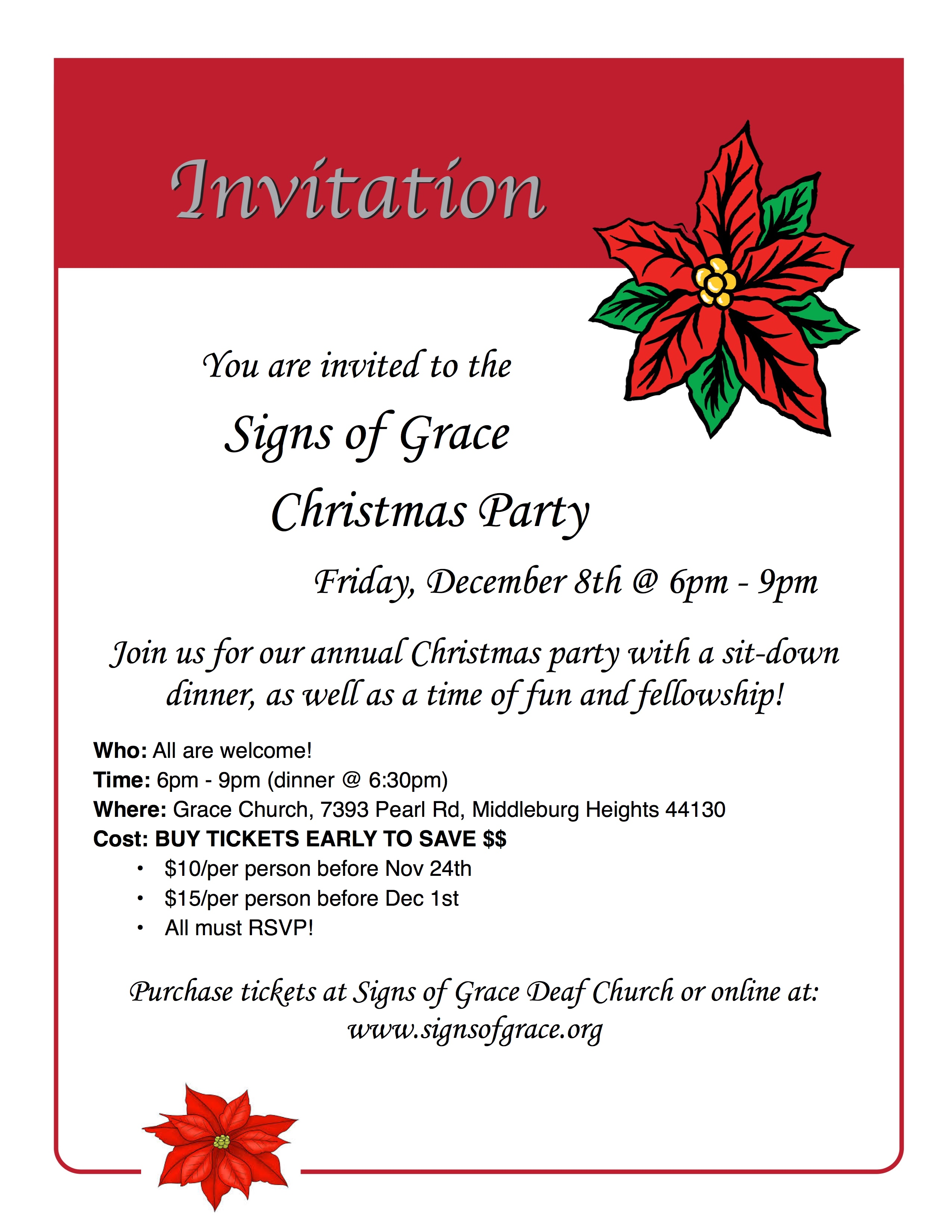 Signs of grace christmas