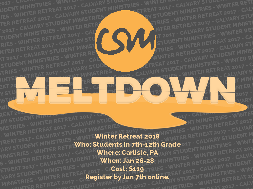 Csm meltdown