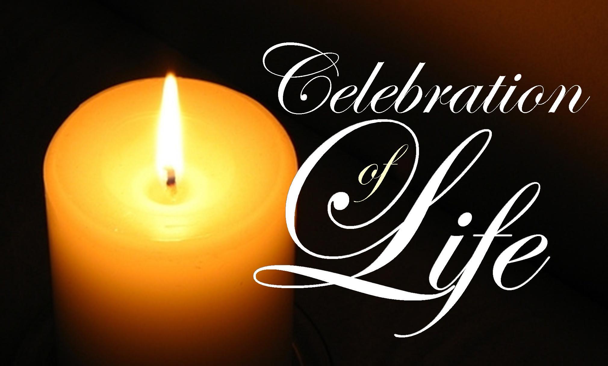 Celebration of life image
