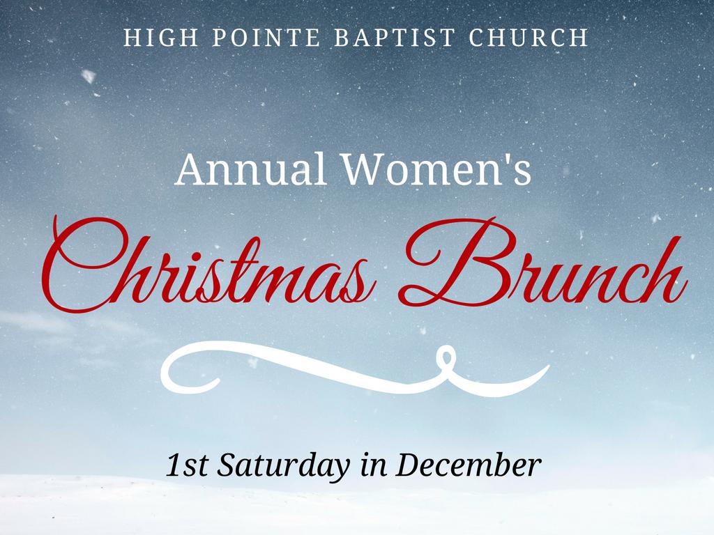 Hpbc women s christmas brunch  pco registrations
