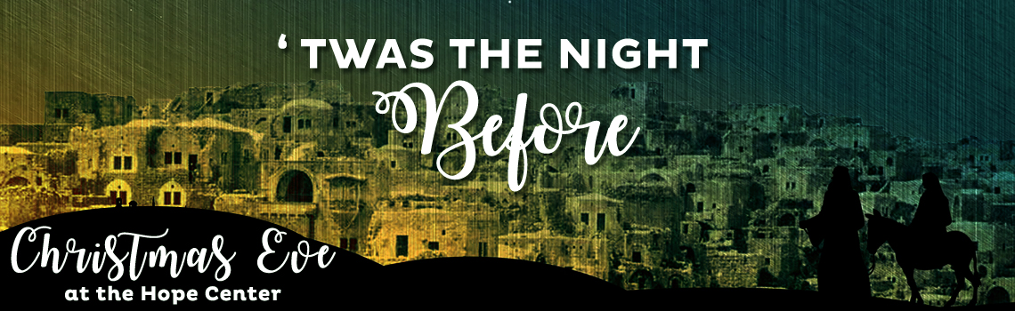 Twas the night before event banner