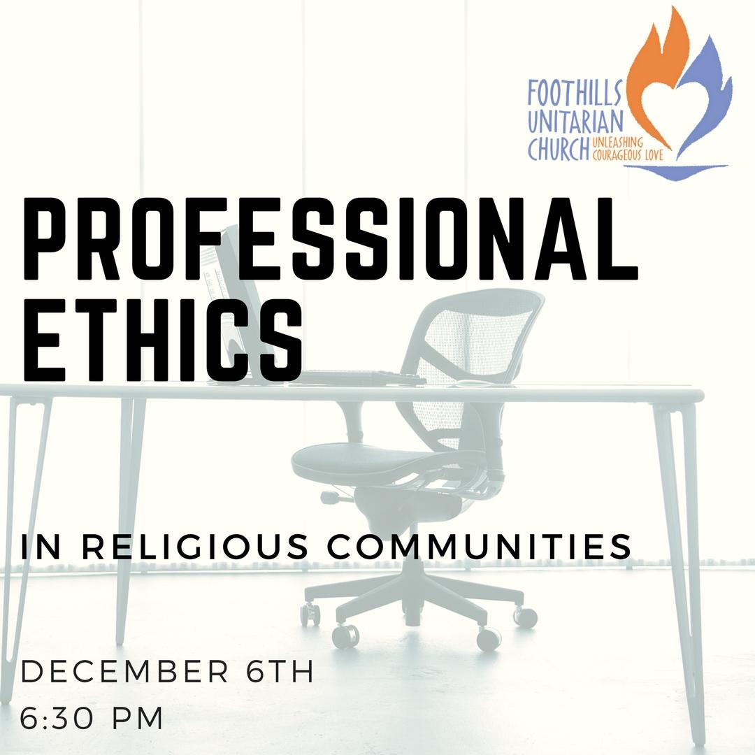 Professionalethics