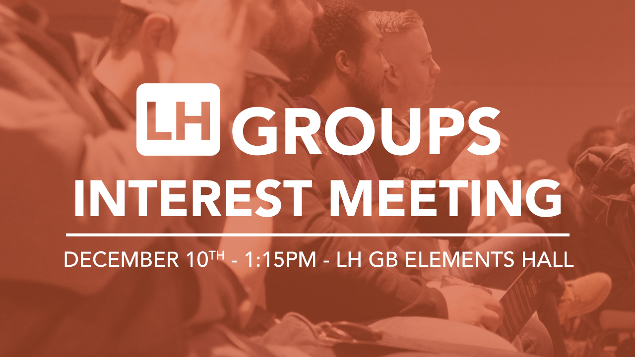 Group interest meeting