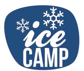 Generic ice camp logo
