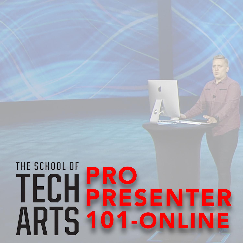Pro presenter 101o