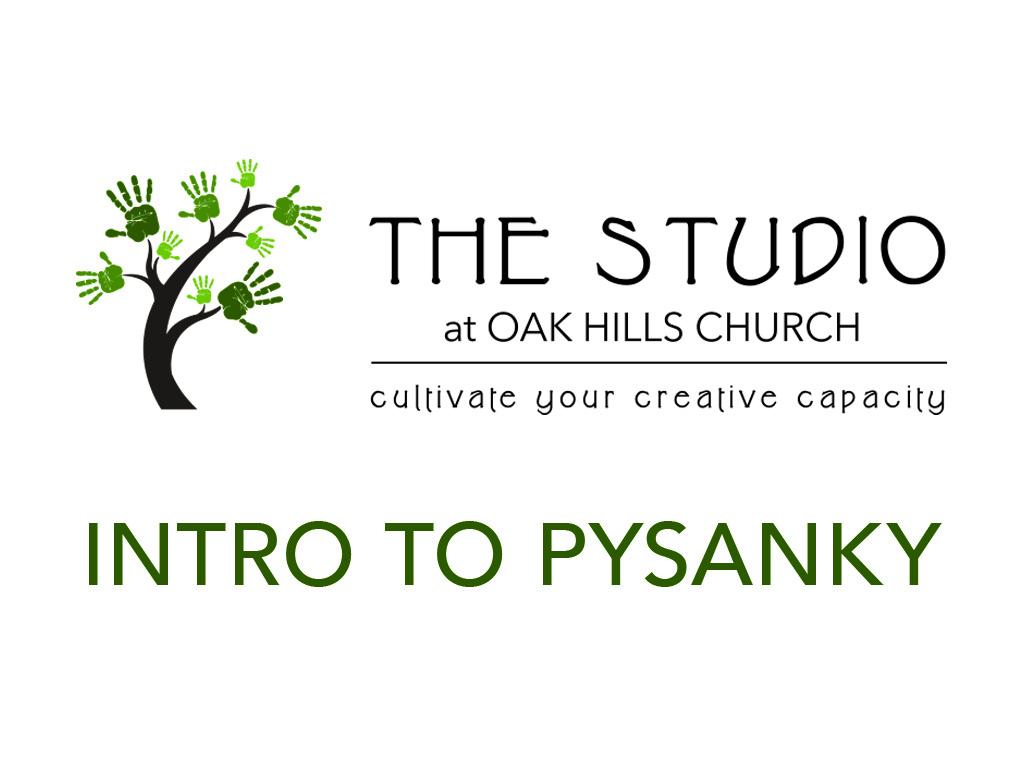 Studio pysanky event