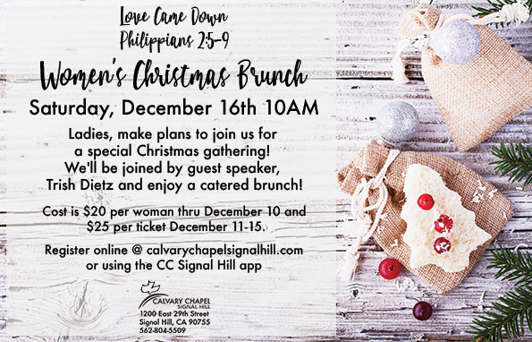 Women s christmas brunch flyer insert 121617
