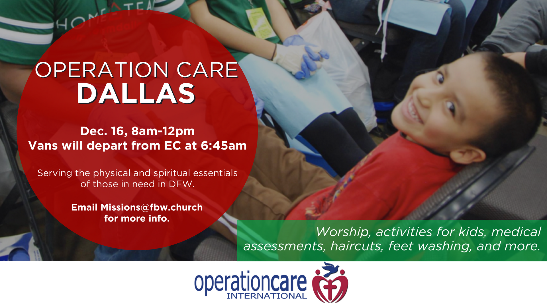 Operation care dallas 12.15