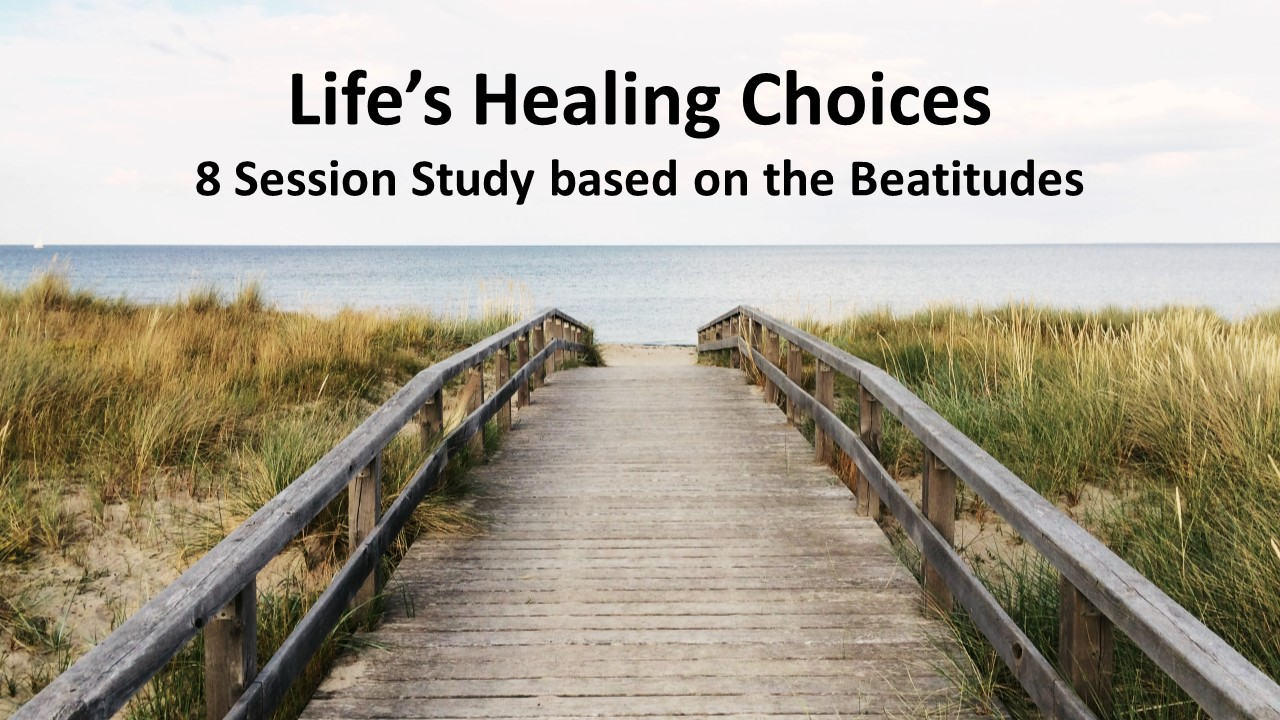 Lifes healing choices class  1