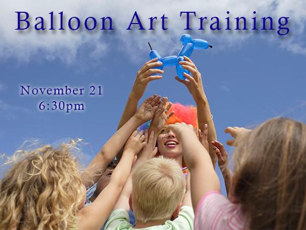 Balloon art training2