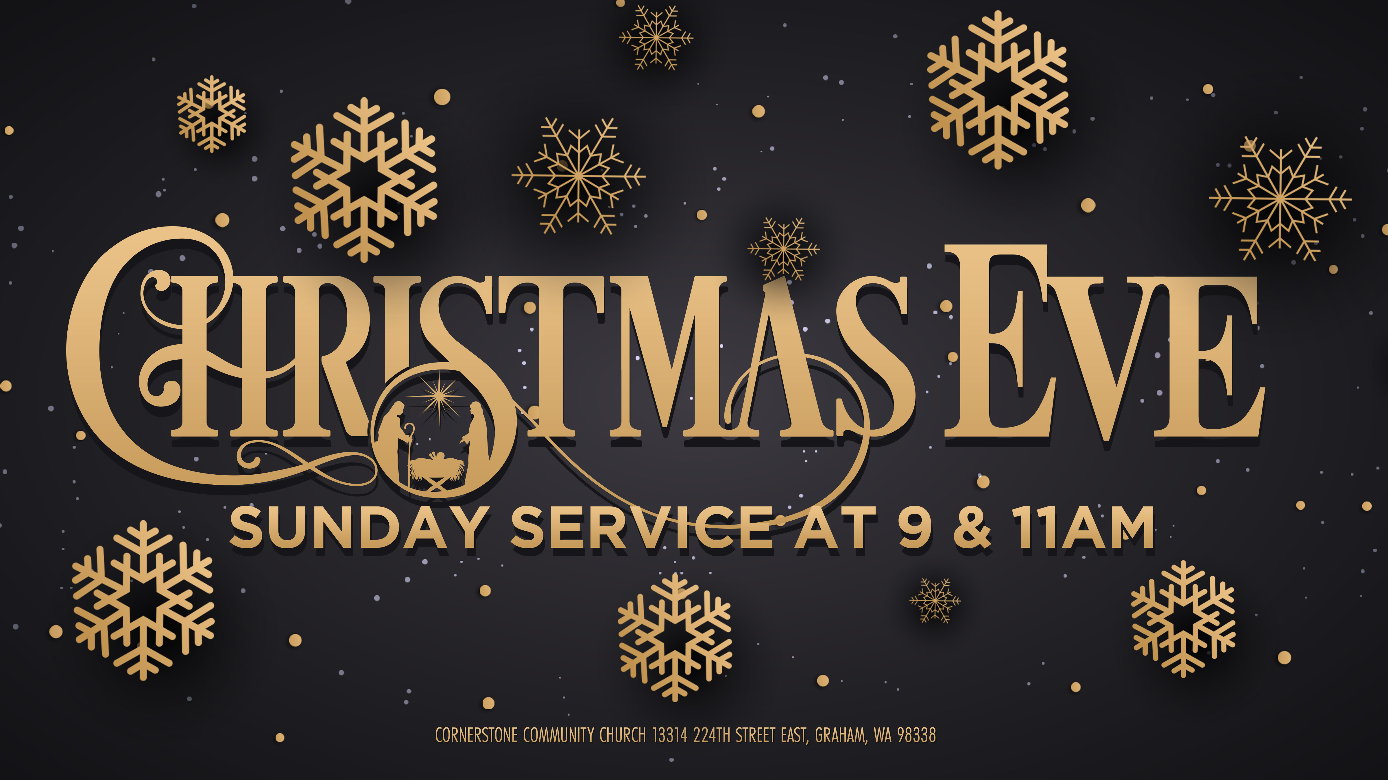Christmas eve at c3 screen