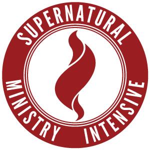 Supernatural ministry intensive logo