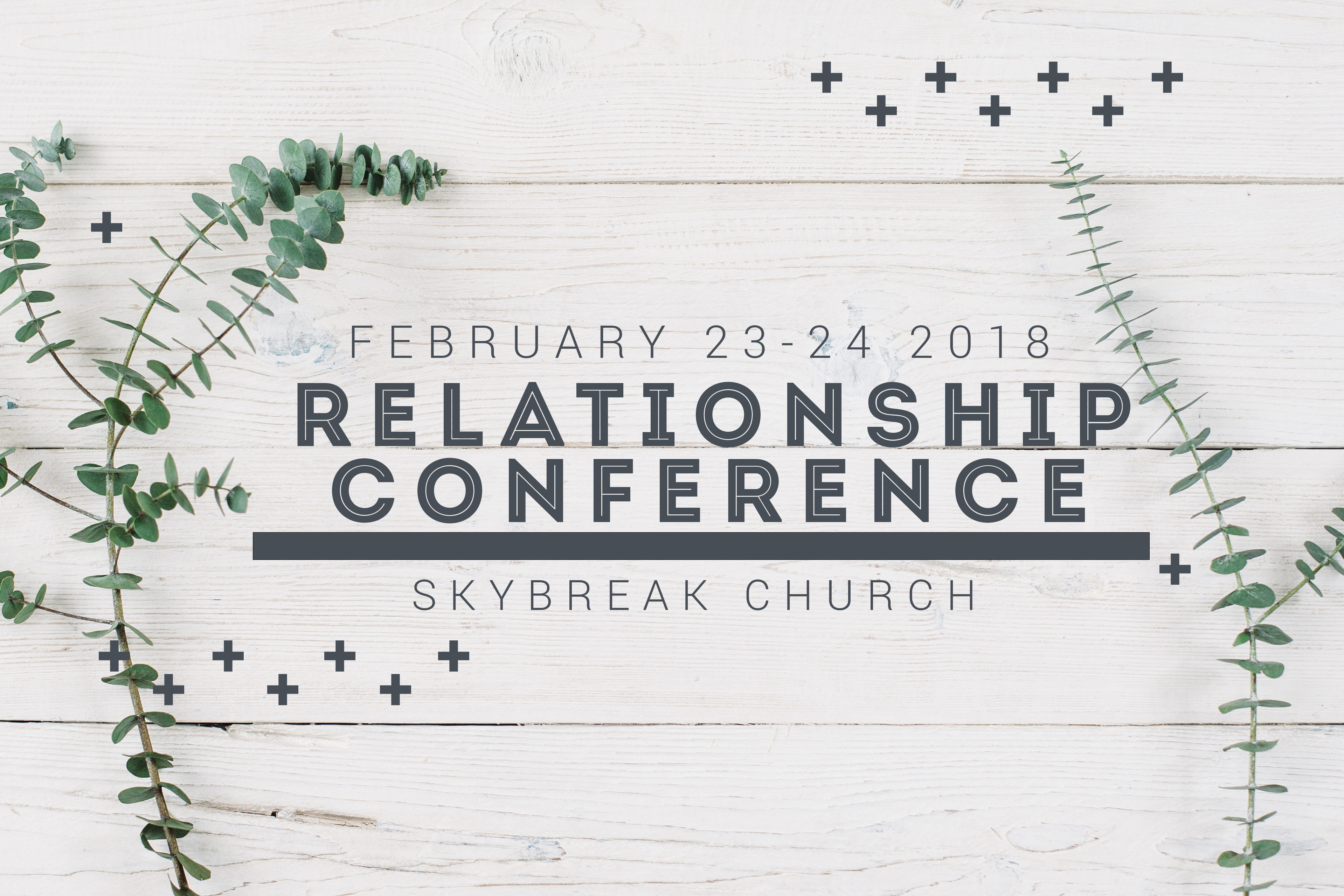 Relationship conference graphic